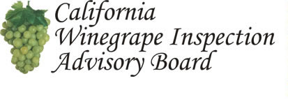 California Winegrape Inspection Advisory Board Logo